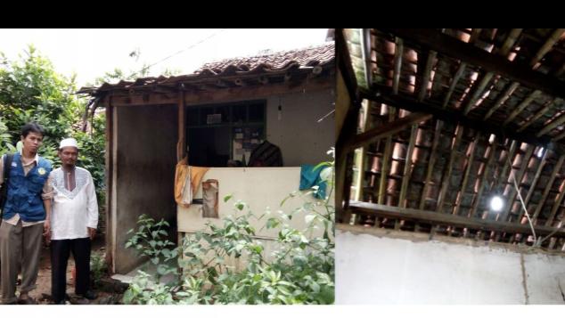 Rumah Layak Untuk Keluarga Bang Angrai
