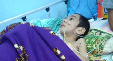 Bantu Adik Adida Pratama lawan Cerebral Plasy