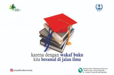 Buku untuk Perpustakaan Dompet Dhuafa University