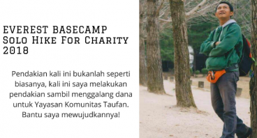 Everest Basecamp Solo Hike for Charity 2018