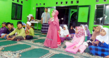 Meja Ngaji Untuk TPQ Al-Falaah