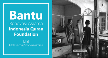 Bantu MahaSantri Penghafal Alquran Renovasi Asrama