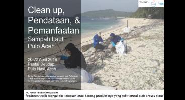 Pendataan dan Pemanfaatan Sampah Laut Pulo Aceh