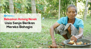 Bantu Nenek Lunasi Hutang, Rumahnya Mau Disita