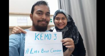 untuk membantu teman yg menderita colon cancer