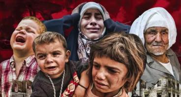 Aksi Peduli Ghouta dan Palestina