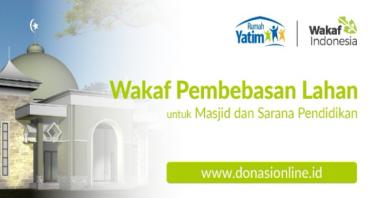 Wakaf Pembebasan Lahan untuk Masjid dan Pendidikan