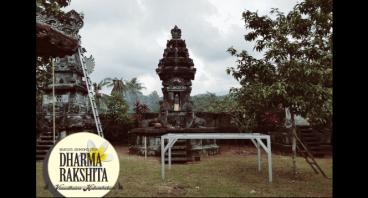 Donasi untuk perbaikan Pura Tirtha Amerta Loka