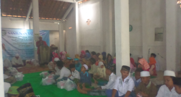 Santunan Yatim Fakir Miskin Thn VIII Ramadhan 2018