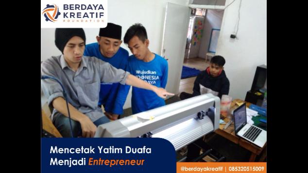 Mencetak Yatim Dhuafa Menjadi Entrepreneur