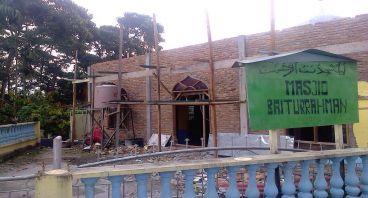 Renovasi Masjid di Tanah Karo