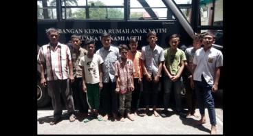 BaJu Lebaran Anak Yatim Aceh Besar