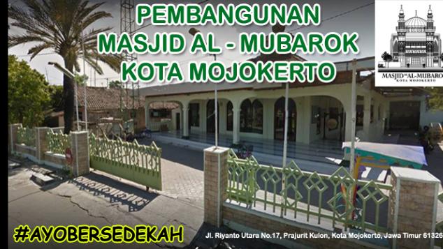 Ayo Bangun Masjid Al Mubarok (Masjid Kurma)