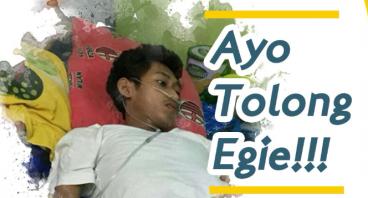 Ayo bantu Egie untuk biaya pengobatan Tumornya
