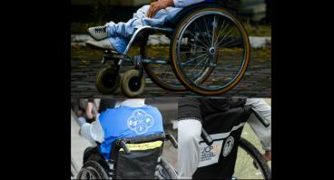 Kursi roda untuk atlet dan anak difabel Yogyakarta