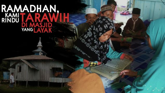 Masjid Untuk Ratusan Warga Perbatasan Indonesia