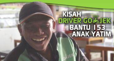 Kisah Para Driver GO-JEK Bantu 153 Anak Yatim