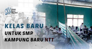 KELAS BARU UNTUK MTS KAMPUNG BARU NTT