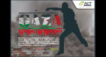 Gaza Kembali Berdarah, Selamat Gaza Sekarang Juga