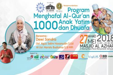Bukber dan Training Hafalan Quran 1000 anak yatim