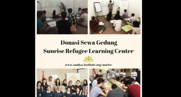 Donasi Pusat Belajar Pengungsi -Terancam Ditutup