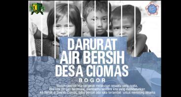 Mewujudkan Air Bersih & MCK Untuk Desa Ciomas