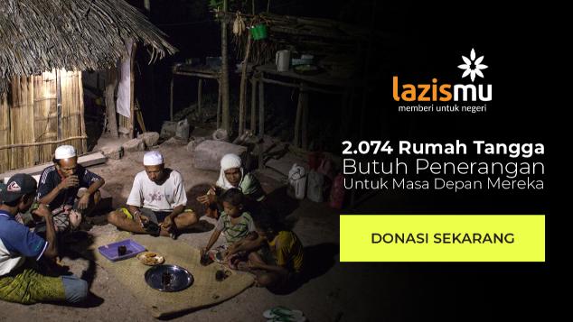 Wujudkan INDONESIA TERANG untuk INDONESIA TIMUR