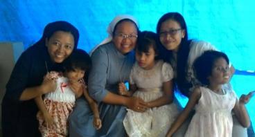 Kasur dan TV untuk SLB Hellen Keller Yogyakarta