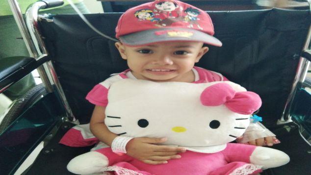 Lanjutan kemoterapi untuk si cantik Amara