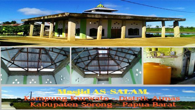 Ayo, Wujudkan Mimpi Muslim Asli Papua Punya Masjid