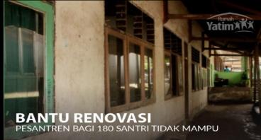 Bantu Renovasi Yayasan Mi'rojussalam