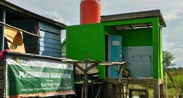Wakaf sumur untuk sumber kehidupan warga Sum-Sel