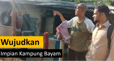 Bantu Wujudkan Impian Warga Kampung Bayam
