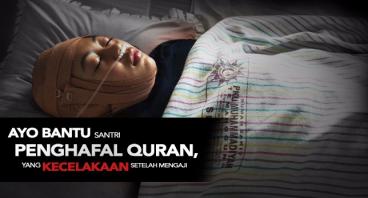 Urgent! Santri Penghafal Qur'an Kecelakaan