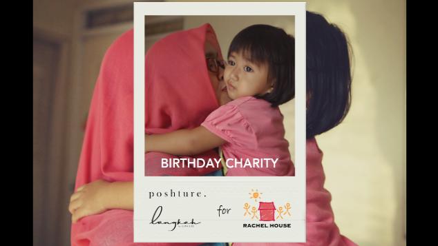 Poshture 2nd Anniversary Charity for Rachel House