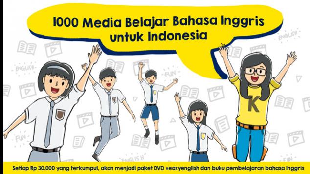 1000 Media Belajar Bahasa Inggris untuk Indonesia