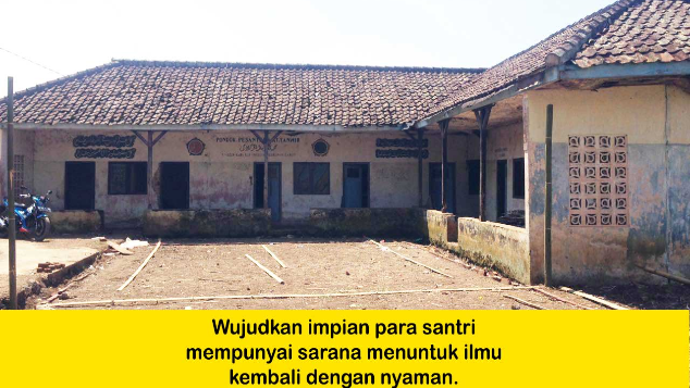 Bantu Renovasi Pondok Pesantren AT-TANWIR