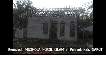 Renovasi Mushola NURUL ISLAM yang TERSENDAT