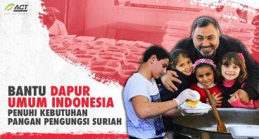 Dapur Umum Indonesia untuk Suriah