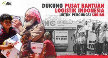 IHC: Pusat Bantuan Logistik Indonesia untuk Suriah