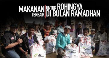 Paket Pangan untuk Rohingya di Bulan Ramadhan