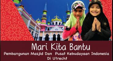 Masjid & Pusat Budaya Indonesia di Utrecht Belanda