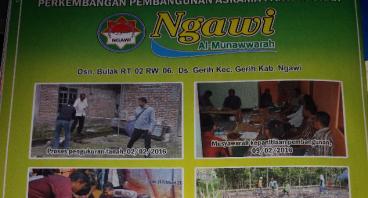 Bantu pembangunan Panti Asuhan di ngawi