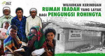 Bantu Renovasi Masjid Pengungsi Rohingya