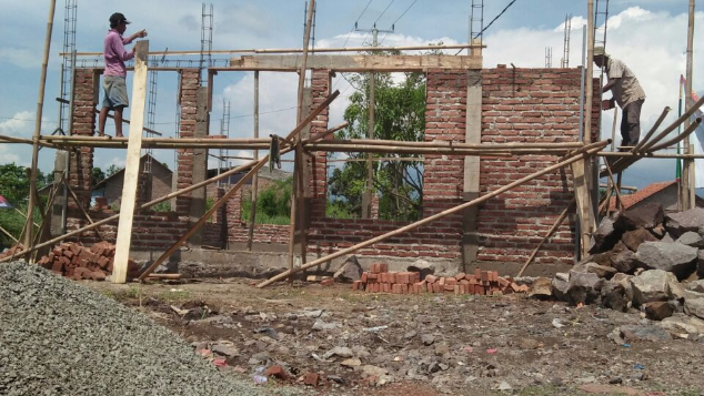 Pembangunan musholla