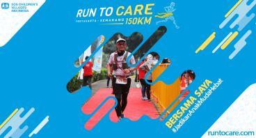 Dwi Berlari 150 KM Demi 2.200 Anak Negeri