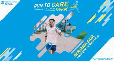 Nazir Berlari 150 KM Demi 2.200 Anak Negeri