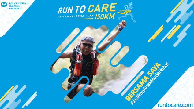 Imam Murtaqi Berlari 150 KM Demi 2.200 Anak Negeri