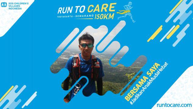 Harto Berlari 150 KM Demi 2.200 Anak Negeri
