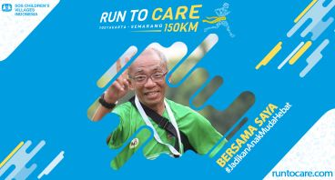 Budi Rahayu Berlari 150 KM Demi 2.200 Anak Negeri